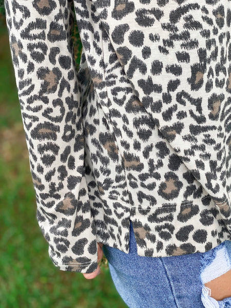 Runnin' Wild Leopard Long Sleeve