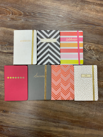 Address and Password Notebooks - Jessi Jayne Boutique
