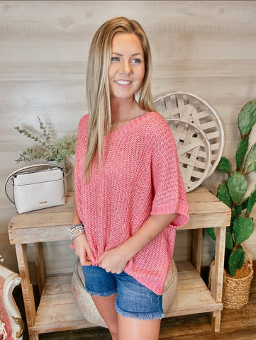 Barbie Dream Pink Summer Sweater