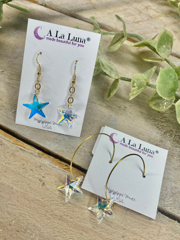 Twinkle Twinkle Little Star A La Luna Multi Earrings