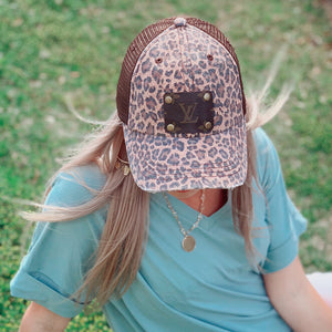 KIP Cheetah LV Patch Ball Cap - Jessi Jayne Boutique