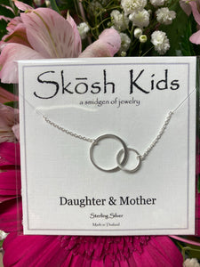 Daughter and Mother Kids SKOSH Necklace