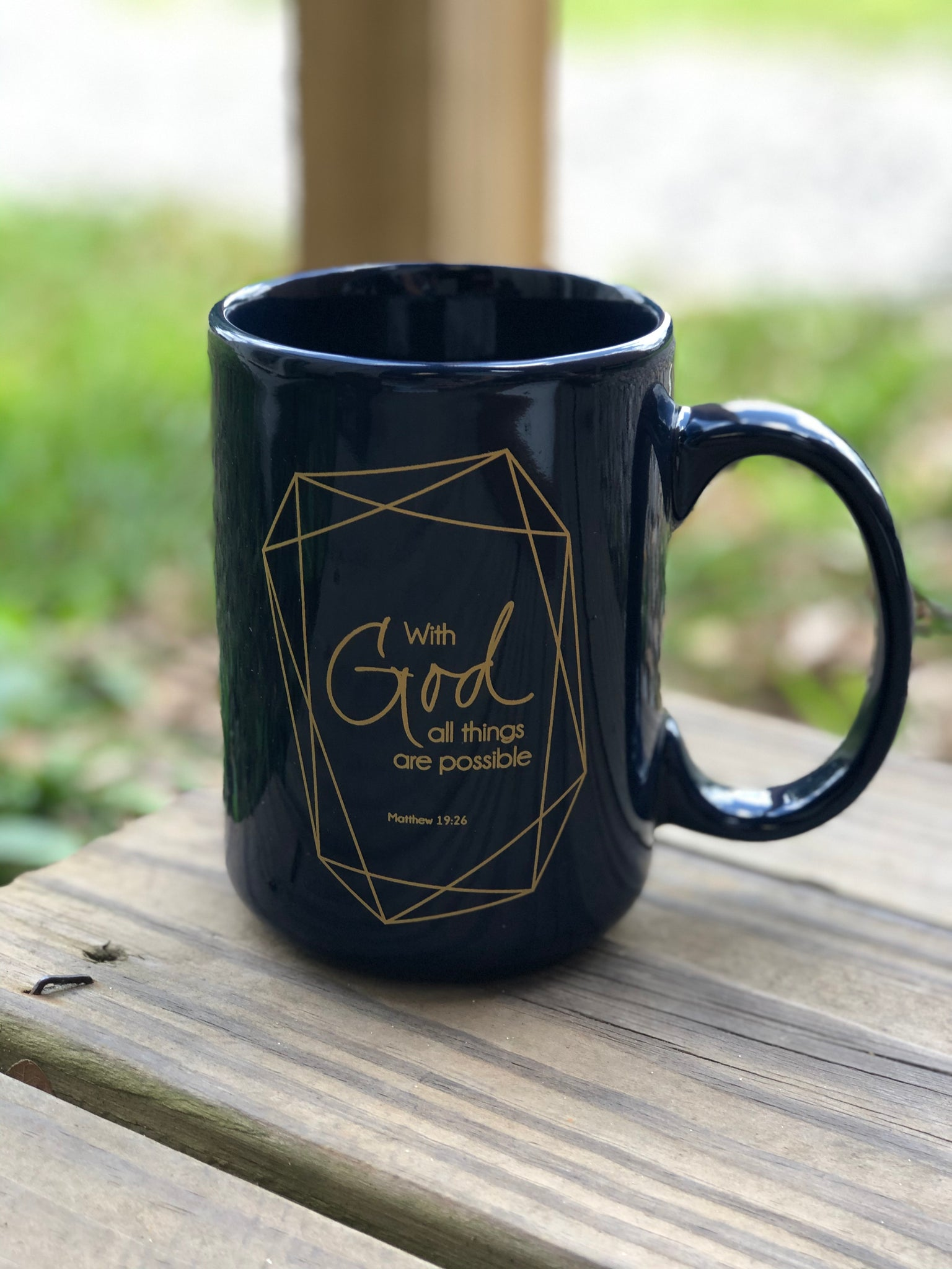 15 oz Mug - All Things Possible - Jessi Jayne Boutique