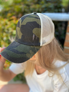 CC Crisscross Ponytail Trucker Hat