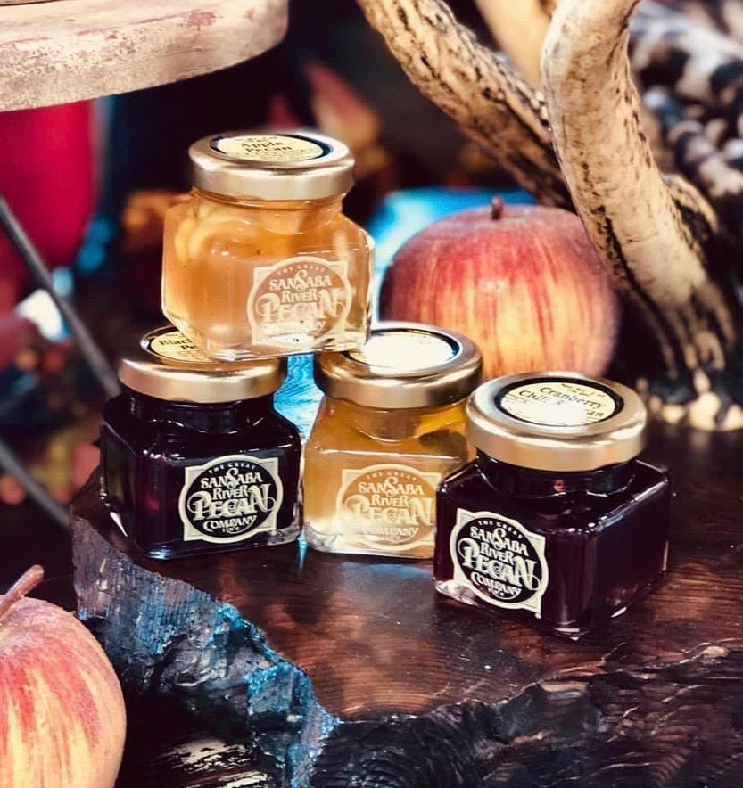 SanSaba River Pecan Co Preserves - Jessi Jayne Boutique