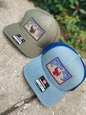Turkey Patch Snapback Trucker Hat