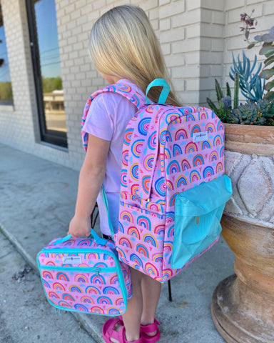 Boys and Girls Jane Marie Printed Backpacks