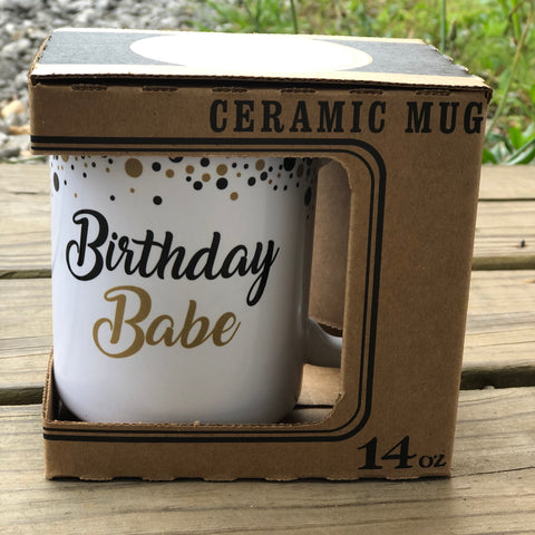 Birthday Babe Mug - Jessi Jayne Boutique