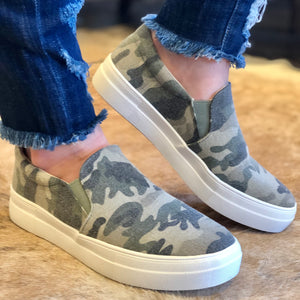 Camo Hike Soda Slip On