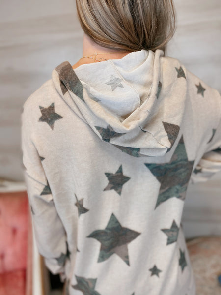 Reach for the Stars Hooded Pullover (two colors, reg-curvy)