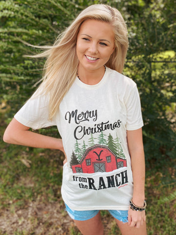 Merry Christmas from the Y Ranch Graphic Tee