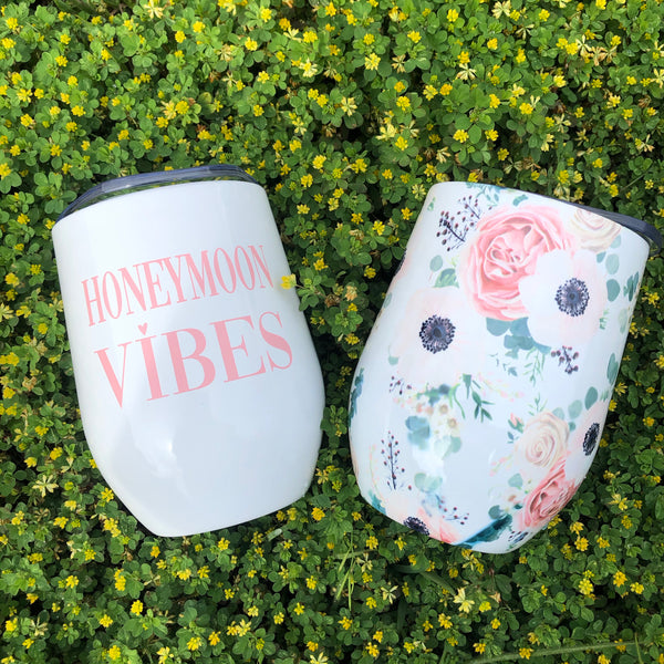 12oz Wine Tumbler - Jessi Jayne Boutique