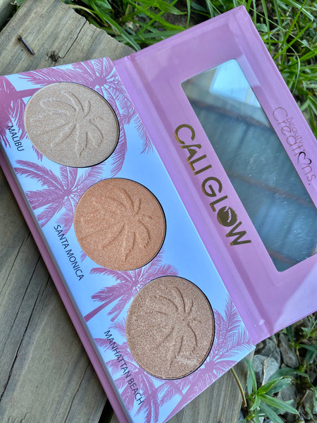 Cali Glow Pressed Highlighter and Bronzer Palette