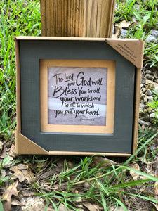 7 x 7 Table Top Frame - Jessi Jayne Boutique