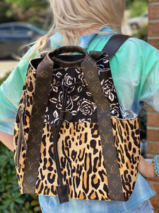 Jaded Gypsy Printed Backpack