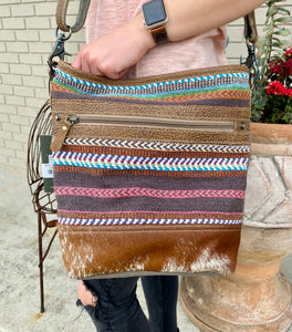 Myra Tiered Shoulder Bag