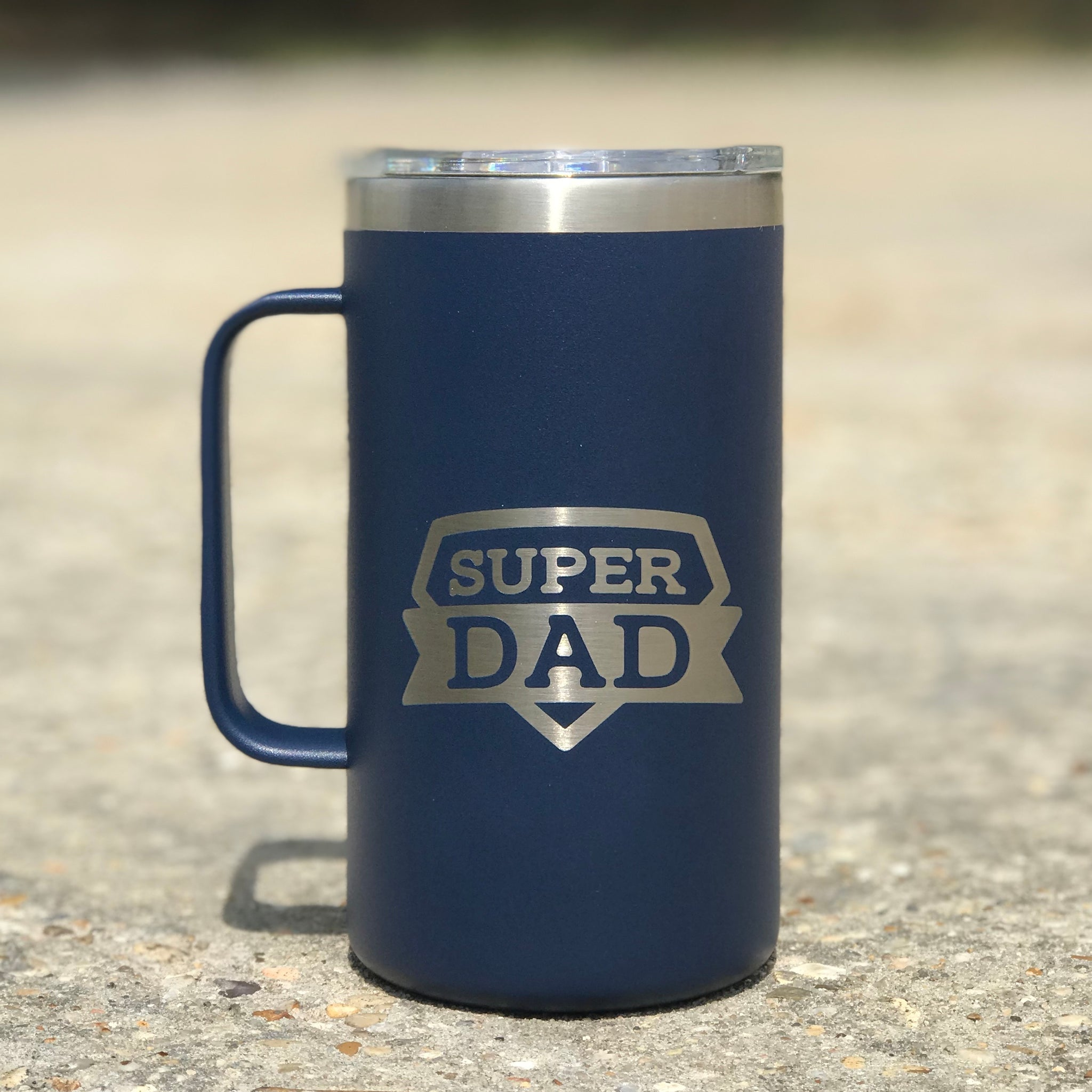 24 oz Super Dad Mug - Jessi Jayne Boutique