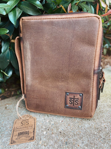 STS Foreman Leather Bible Cover