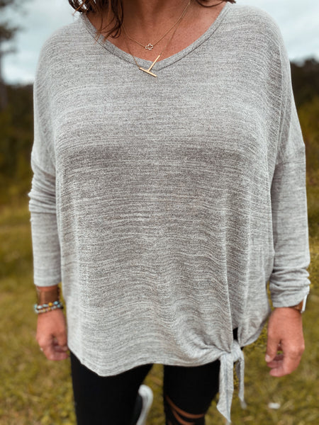 Count Me In Curvy Long Sleeve Curvy Top