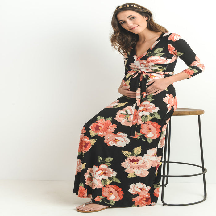 The Maternity Long Dresses – When Comfort Meets Style