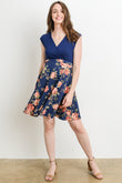 Floral Flare Maternity & Nursing Dress