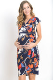 Madison Adjustable Wrap Maternity & Nursing Dress