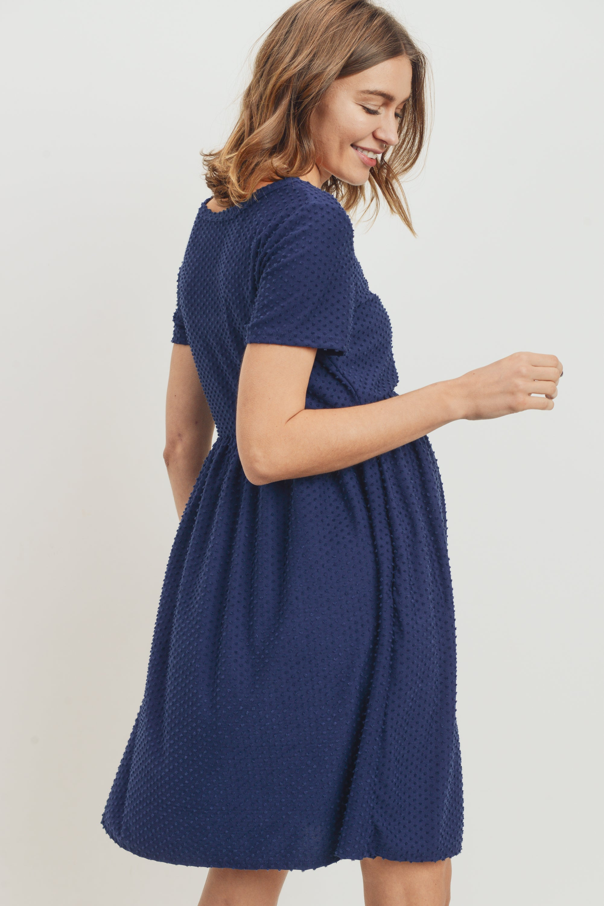Babydoll Maternity Pocket Dress