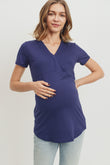 Cross Front Maternity/Nursing Top
