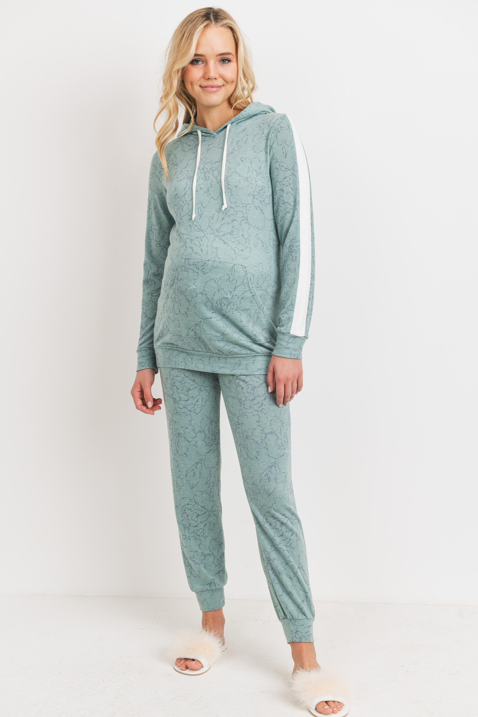 French Terry Maternity Sweatpants