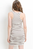 Striped Maternity & Nursing Tank Dress