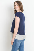 Double Layered Maternity & Nursing Top