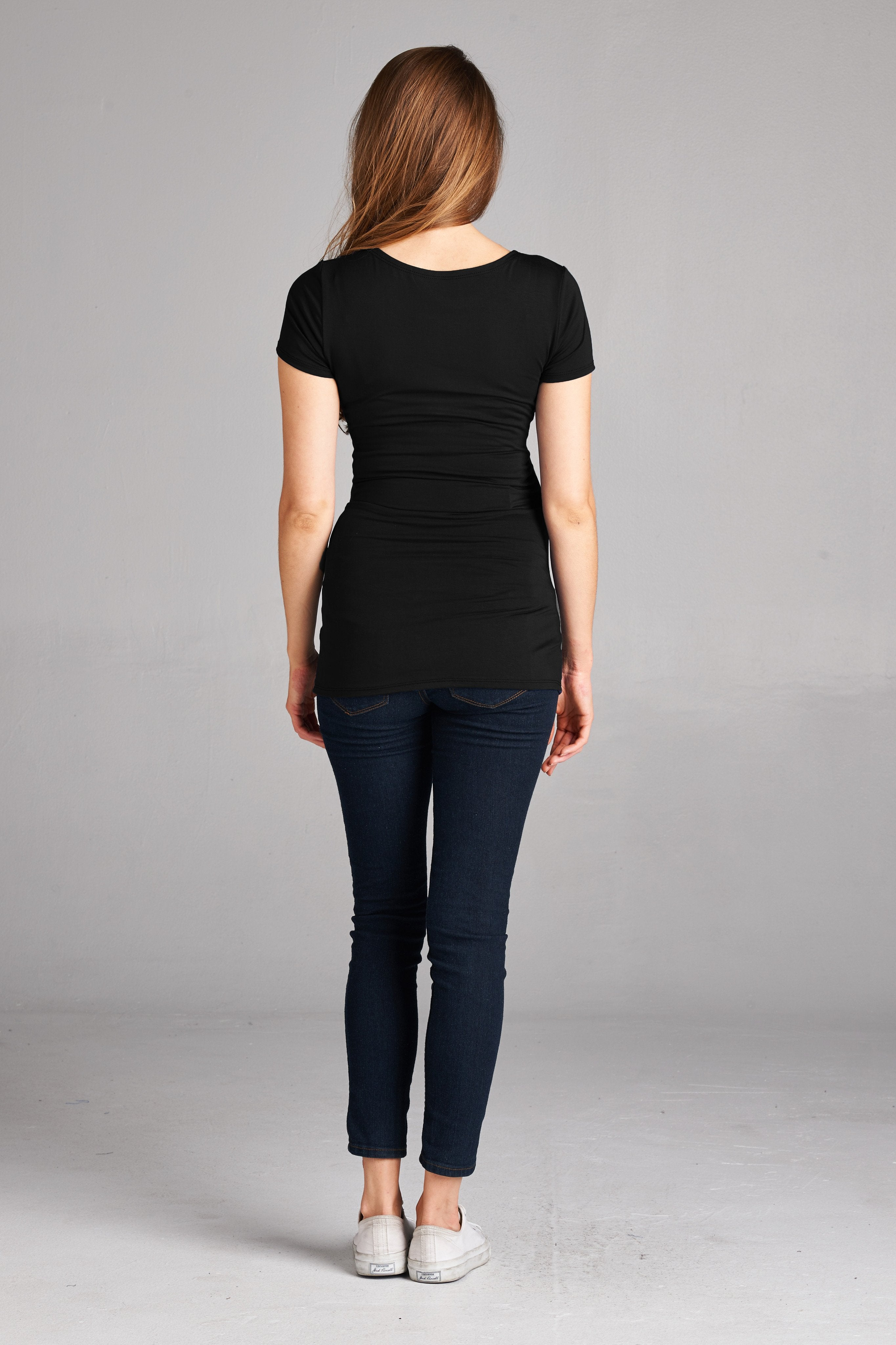 Cross Front Maternity & Nursing Top