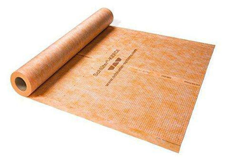 Schluter® KERDI Waterproof Membrane - Roll - 50 Square Feet - customeps