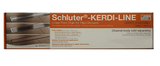 "Schluter KERDI-LINE - 36"" Closed Drain Grate - Stainless Steel - customeps"