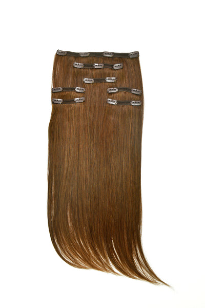 Clip-In Hair Extensions Set #35 Auburn