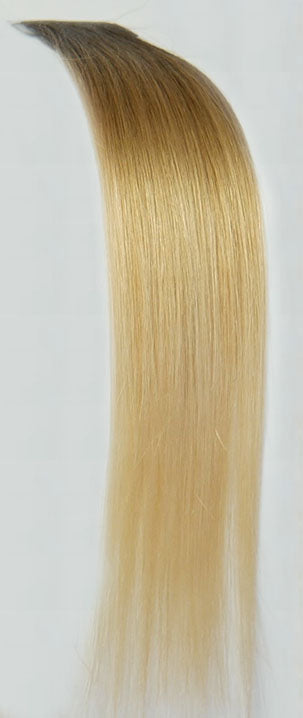 6/89 Castaño Medianob Ombre / Daya<br>Seamless Tape Hair Extensions