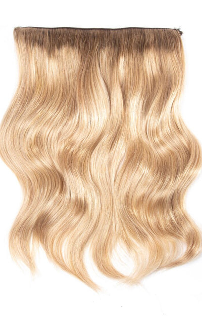 R4A-18/22 Rooted Golden Blonde <br> HALOSTYLE (Halo) Hair Extensions