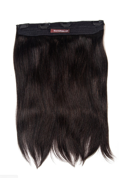 1B Black <br> HALOSTYLE (Halo) Hair Extensions