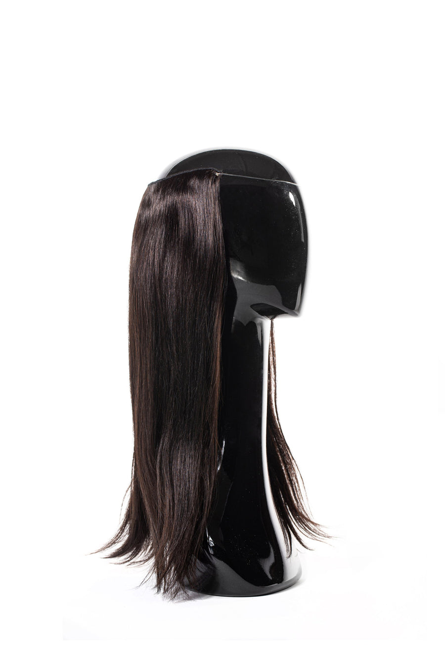 Halo Style Hair Extensions #1B Black