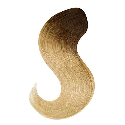 Halo Style Hair Extensions #T6/184 Golden Blonde Ombre