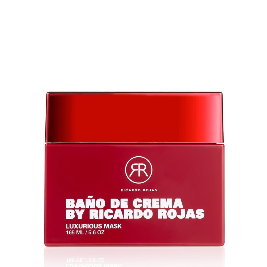 Baño De Crema Luxurious Hair Repair Mask | Repairs and Rehabilitates Damaged Hair | Restores Softness and Shine | 5.6 fl oz/165 mL