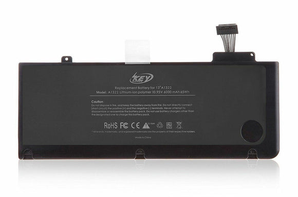 Replacement Generic Battery Apple Mac Book pro 6000 mah A1278 A1322 2009 2010 2011 2012