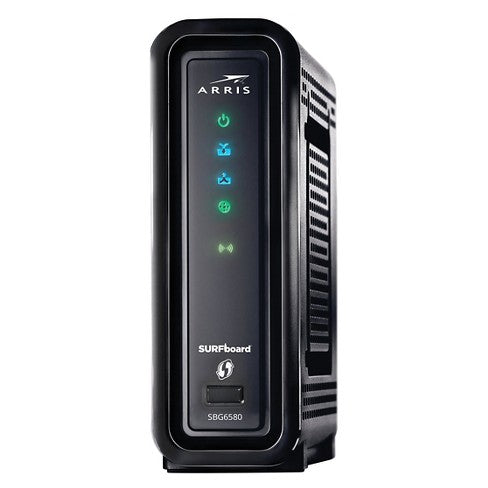 Arris Motorola SBG6580 Docsis 3.0 Cable Modem Router Gateway Comcast / Xfinity, Cox, Time Warner Cable, Spectrum, Cable One, commZoom