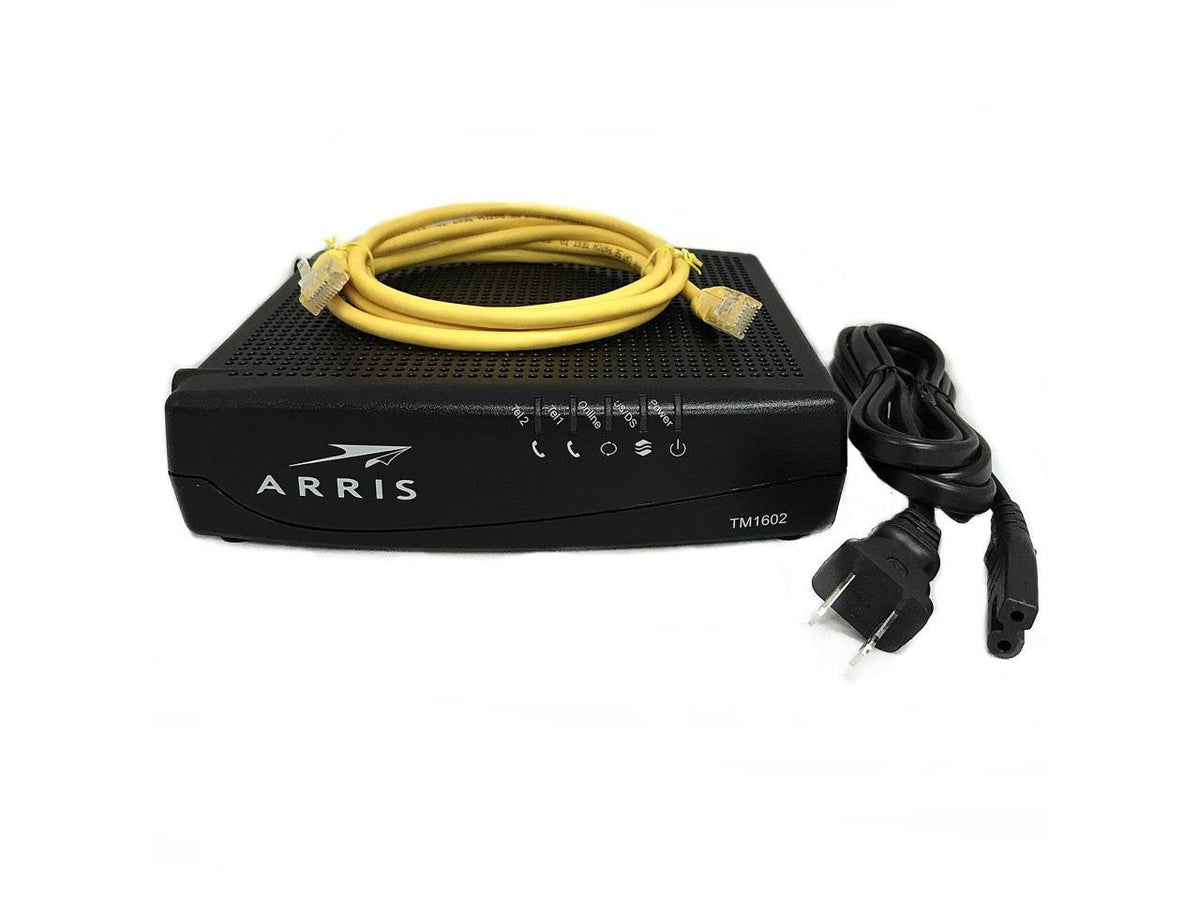 Arris Tm1602a Docsis 3 0 Telephony Cable Modem Approved