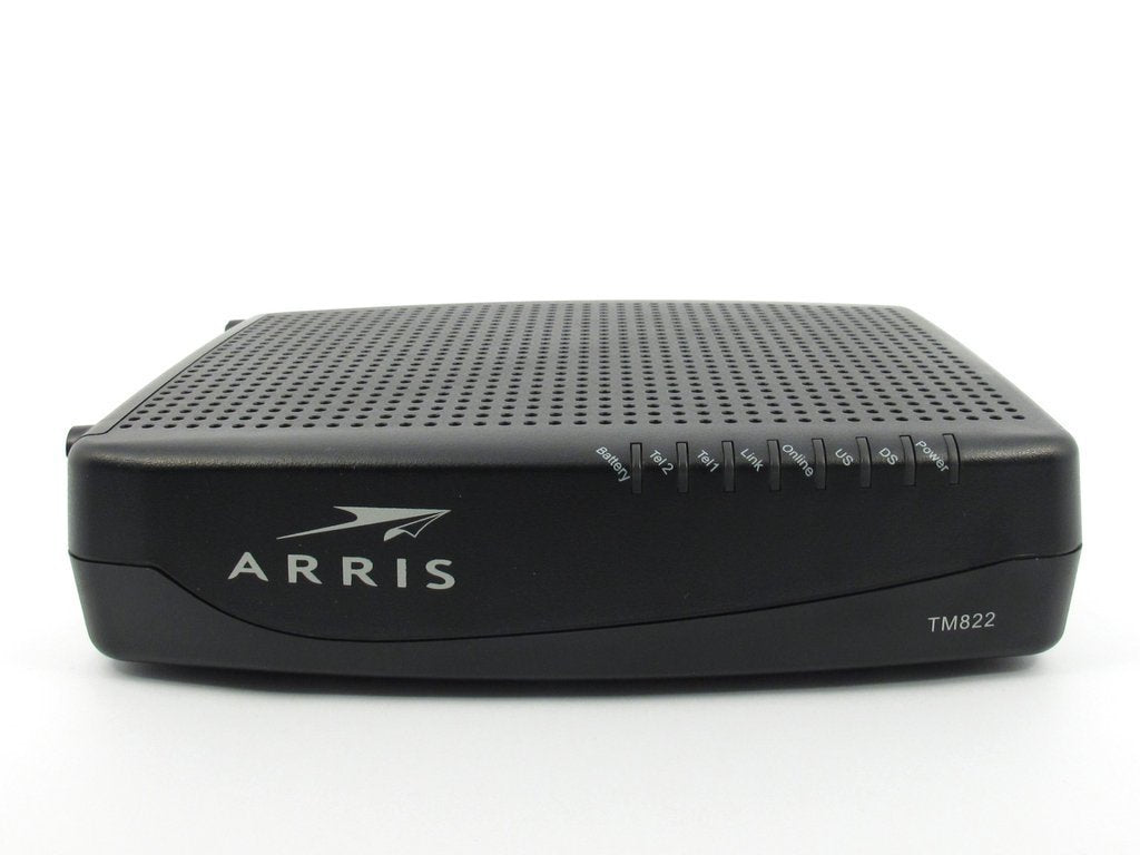 Arris TM822G Docsis 3 0 Cable VoIP Telephony Modem - Cable One, Mediacom,  Comcast / Xfinity, Optimum / Cablevision, RCN