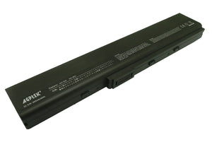 6 cell laptop Generic battery for ASUS N82 Series A32-N82 4400mah black