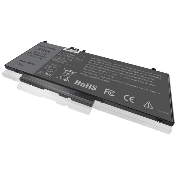 Laptop Generic Battery For Dell Latitude E5250 E5270 E5450 E5470 E5550 E5570 TXF9M K9GVN