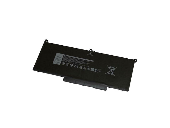 Replacement LiPoly Notebook Generic Battery for DELL Latitude 7280, 7480 series F3YGT
