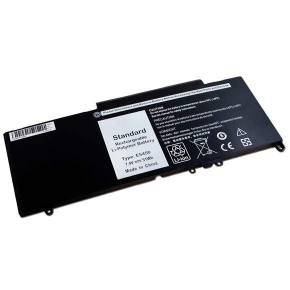 51Wh 7.4V Laptop Generic Battery For Dell Latitude 3150 3160 G5M10 0WYJC2 07V69Y 6MT4T