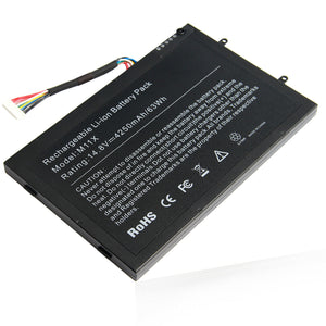 for DELL Alienware M11x Laptop Generic Battery PT6V8 8P6X6 T7YJR 63Wh